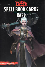 Dungeons & Dragons 5th Edition RPG: Bard Spellbook card Deck