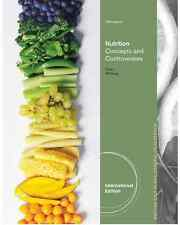 NEW - Free Express Ship - Nutrition Concepts and Controversies by Sizer (13 Ed)