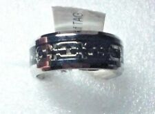 Stainless Steel band  Ring - size 7.5