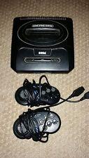 Vintage Sega Genesis Model 2 MK-1631 Console + Two Controllers