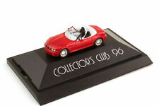 1:87 BMW Z3 rot red mit Alpina-Felgen Collector´s Club 96 - herpa 195850