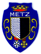 Ecusson brodé ♦ (patch/crest embroidered) ♦ METZ