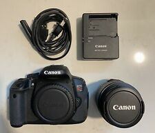Canon EOS Rebel T4i / EOS 650D 18.0MP Digital SLR Camera  W/ 18-55mm Lens