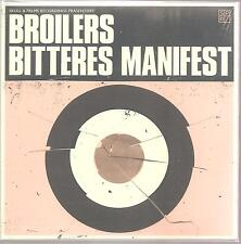 "BROILERS ""Bitteres Manifest"" 1 Track Limited + Numbered 7 Inch VINYL sealed"