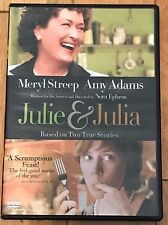 DVD: Julie & Julia 2009 Meryl Streep Amy Adams MINT Based on 2 True Stories EUC