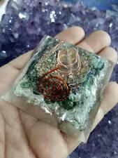 Seraphinite Azeztulite Quartz Crystal Stones Orgone Pyramids 50mm Big