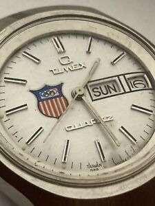 Rare Vintage 1980 Olympics Issued Q Timex Watch