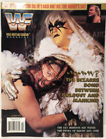 WWF Magazine October 1996 Mankind Goldust Cover with Psycho Sid Cards WWE