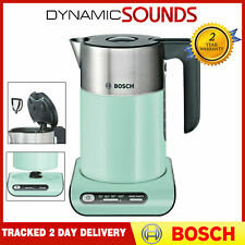 Bosch TWK8632PGB Styline Collection 1.5L 3KW Rapid Boil Jug Kettle - Turquoise