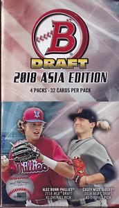 2018 Bowman Draft Baseball Asia Edition