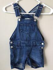 Old Navy Girls Size 5T Blue Jean Shortalls  Overalls Summer