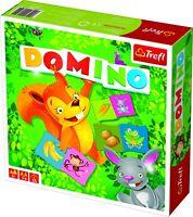 Trefl Kids Classic Animal Dominoes Cards Strategy Board Game Play Fun Children
