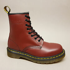 Dr. Martens Boots 1460 11822600 Cherry Red Smooth 8Loch Stiefel rot Leder Gr. 36