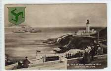 (La7355-100) Isle of Man, DOUGLAS Head & Port Skillion, Postally Unused, c1905,