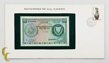 1979 Central Bank of Cyprus 500 Mil Note Uncirculated Condition