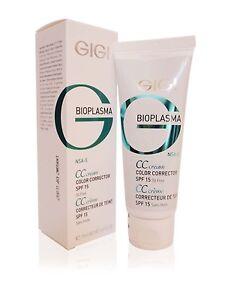 GIGI Bioplasma Color Corrector Cream SPF 15 75ml 2.6fl.oz CC Cream