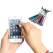 10pcs Mini Stylus Touch Screen Pen For iPhone 6 5S 5C 4S iPod Touch iPad Samsung