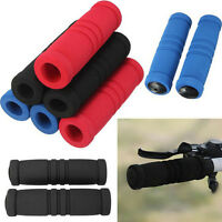2x Bicycle Cycling Skidproof Handle Bar Grips Sponge Cover Soft SD