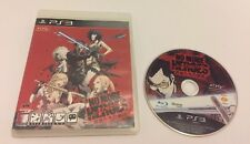No More Heroes: Heroes Paradise Playstation 3 PS3 Korean Version Boxed Rare