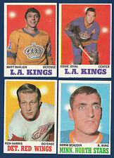 NORM BEAUDIN 70-71 TOPPS 1970-71 NO 48 NRMINT  7342