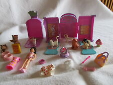 Polly Pocket 2003 Magnetic Pet Show Playset, Doll, Pets, Accessories