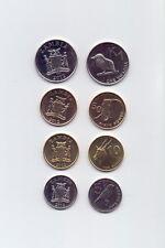 Sambia / Zambia - KMS/Satz 4 Münzen 2012 UNC