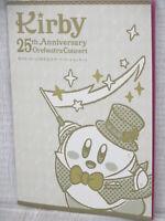 STAR KIRBY 25th Anniversary Concert Brochure 2017 Art Book Ltd Booklet