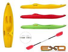 Canoa exo zippy kayak da 305 cm + pagaia inclusa