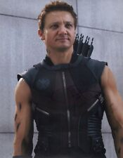 """~~ JEREMY RENNER Authentic Hand-Signed """"AVENGERS ~ HAWKEYE"""" 11x14 Photo ~~"""
