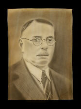 dibujo carbón de leña retrato firmado Charcoal dibujo Retrato firmado