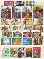 Großbritanien England verschiedene Sondermarken, gestempelt kl. Sammlung Lot