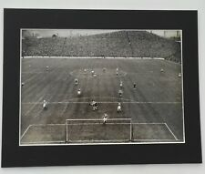 """C1952-53 SHEFFIELD WEDNESDAY ACTION PRESS PHOTO vs. BLACKPOOL IN MOUNT  14""""x 11"""""""