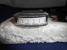 """1122  VOLTS METER  0-1    NEW OLD STOCK 1 1/2"""""""