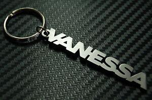 VANESSA Name Keyring Keychain Key Fob