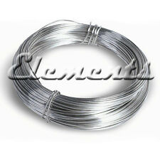 925 STERLING SILVER SOFT ROUND WIRE 0.3MM 0.4MM 0.5MM 0.6MM 0.7MM 0.8MM .9MM 1MM