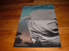 Orenda Fink Ask The Night Concert Tour Rock Pop Poster Promotional Promo Music