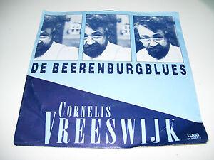 """Cornelis Vreeswijk - De Beerenburgblues / Persoonlijke Peter *  7"""" Vinyl 45RPM *"""