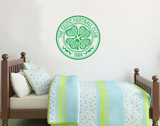 Celtic Football Club Crest Set Wall Sticker Official Merchandise - Decal
