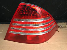 2000 - 2006 MERCEDES W220 S500 REAR RIGHT PASS SIDE TAIL LIGHT TAILLIGHT - OEM