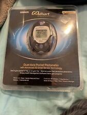 OMRON GO Smart Dual-Axis Pocket Pedometer HJ-720ITC Pre-owned