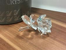SWAROVSKI FIGUR Rose liegend 8,5 cm mit Ovp & Zertifikat !!  Top Zustand