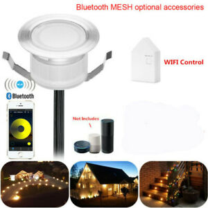 19/30/31/45/61mm WIFI / Bluetooth Low Voltage Terrace LED Deck Stair Step Lights
