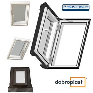 Ausstiegsfenster für Warmdach / Kunststoff / Dobroplast PVC Skylight Loft / Neu!