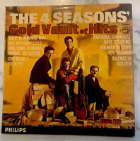 THE 4 SEASONS - Gold Vault Of Hits ~ VINYL LP - 1965 UK Philips VG