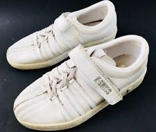 K SWISS Kids Youth Girls Boys Athletic Tennis Running Shoes Sneakers Sz 1 White