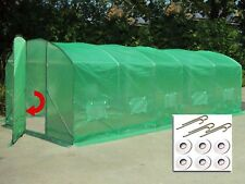 6m x 3.5m Poly Tunnel Greenhouse Green House Polytunnel Pollytunnel Polly Tunnel