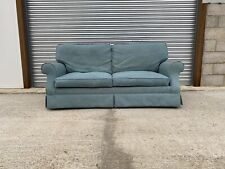 Laura Ashley Padstow Large Sofa Upholstered in Danaway Blue