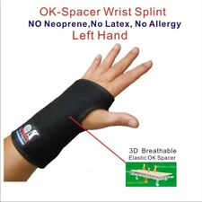 IRUFA 3D Breathable Patented Fabric RSI Wrist Splint Brace Support (Left Hand)