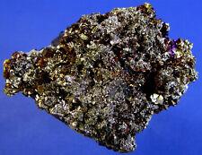 Pyrit mit Kupferkies aus der Borieva Mine bei Madan in Bulgarien