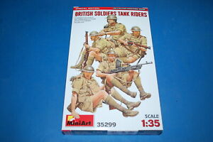Miniart 35299 - British Soldiers Tank Riders Special Edition scala 1/35